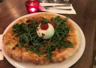 Pizza burratissima